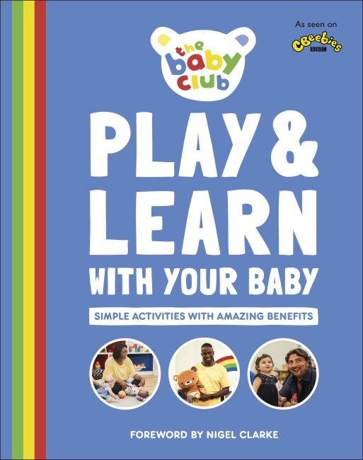 Hardback cover of Play and Learn With Your Baby
