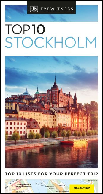Paperback cover of DK Eyewitness Top 10 Stockholm