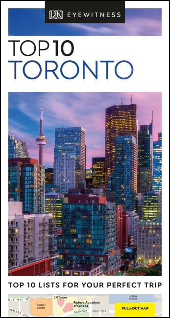 Paperback cover of DK Eyewitness Top 10 Toronto