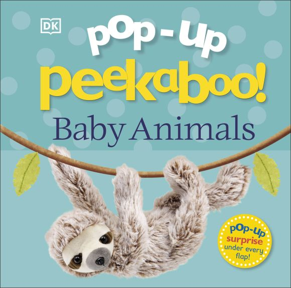 Board book cover of Pop-Up Peekaboo! Baby Animals