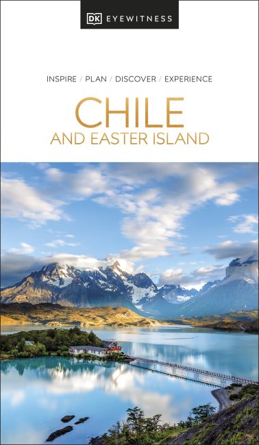 Paperback cover of DK Eyewitness Chile and Easter Island