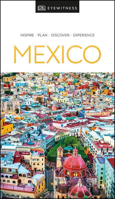 Paperback cover of DK Eyewitness Mexico