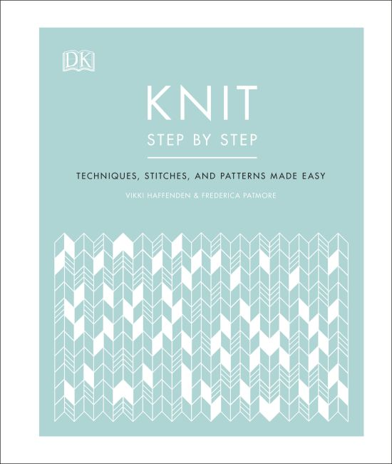 Hardback cover of Knit Step by Step