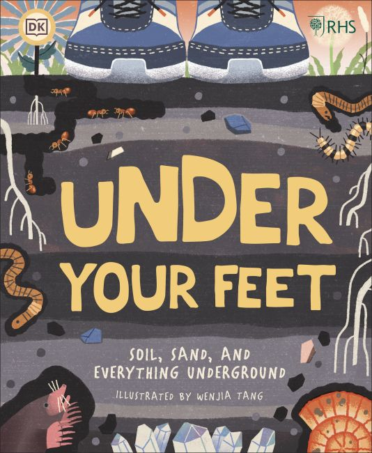 Hardback cover of RHS Under Your Feet