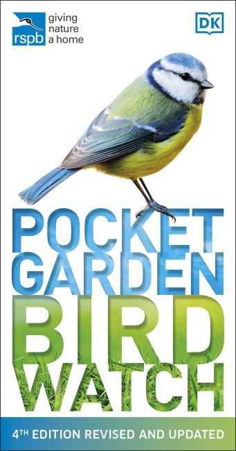 Paperback cover of RSPB Pocket Garden Birdwatch