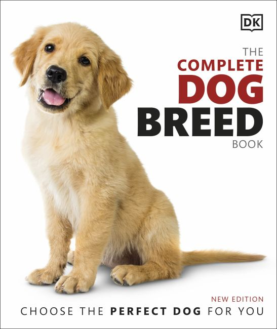 Hardback cover of The Complete Dog Breed Book