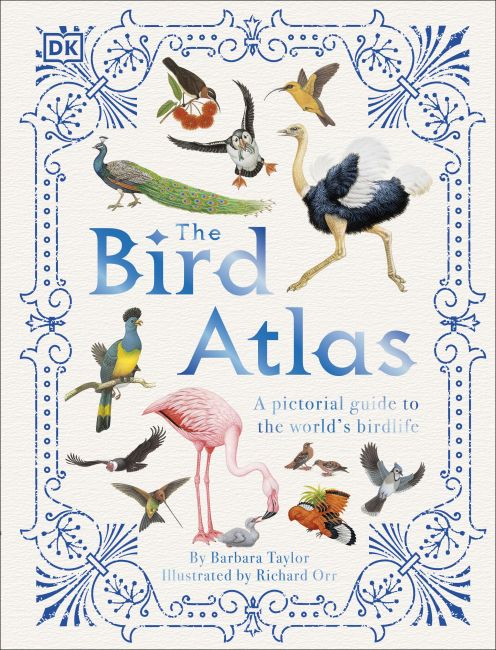 Hardback cover of The Bird Atlas