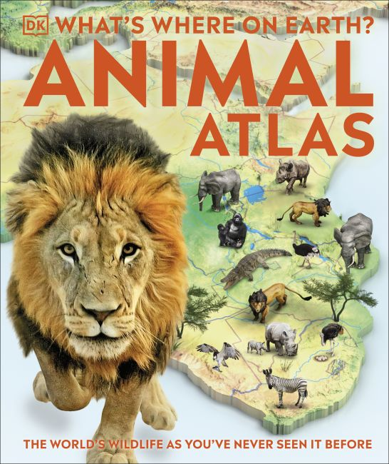 Hardback cover of What's Where on Earth? Animal Atlas