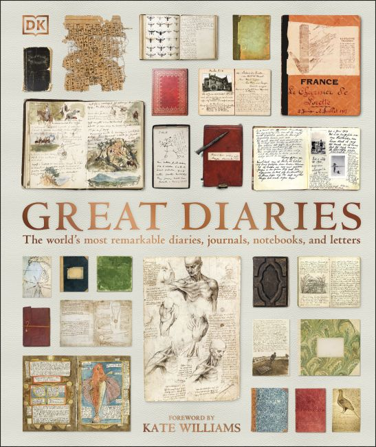 Hardback cover of Great Diaries