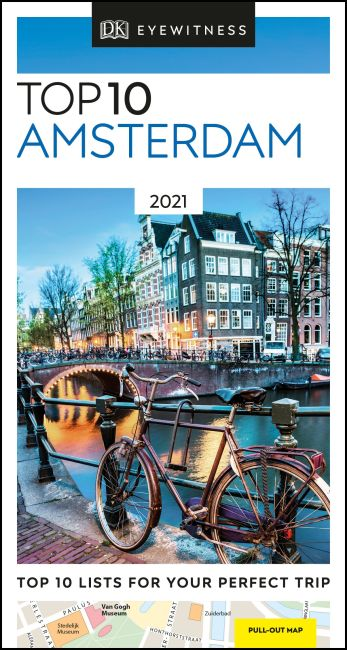 Paperback cover of DK Eyewitness Top 10 Amsterdam