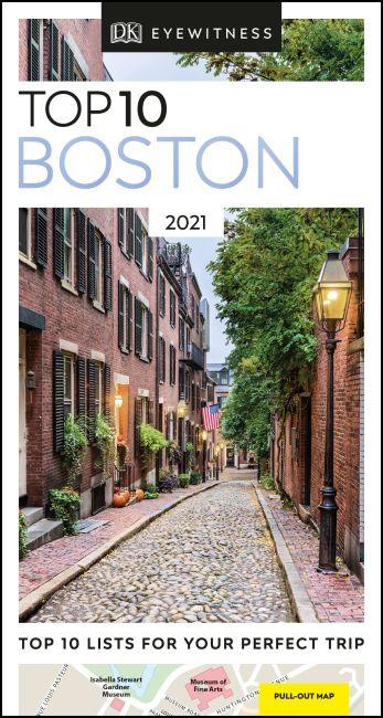 Paperback cover of DK Eyewitness Top 10 Boston
