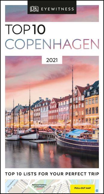 Paperback cover of DK Eyewitness Top 10 Copenhagen