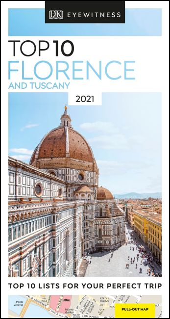 Paperback cover of DK Eyewitness Top 10 Florence and Tuscany