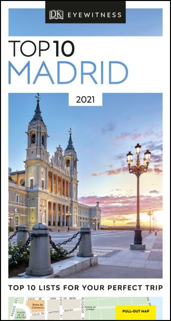Paperback cover of DK Eyewitness Top 10 Madrid