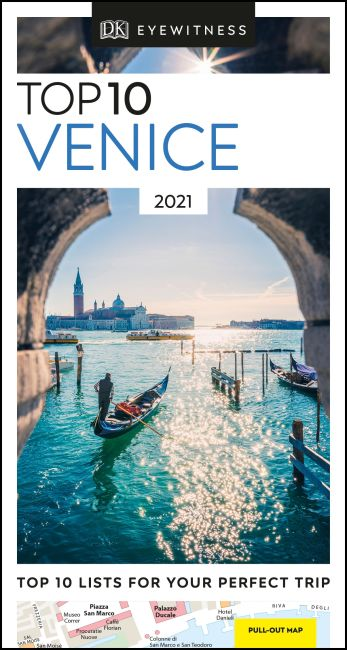 Paperback cover of DK Eyewitness Top 10 Venice