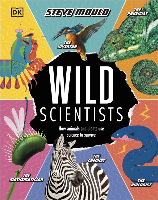 Hardback cover of Wild Scientists