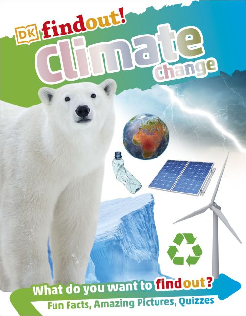 Flexibound cover of DKfindout! Climate Change
