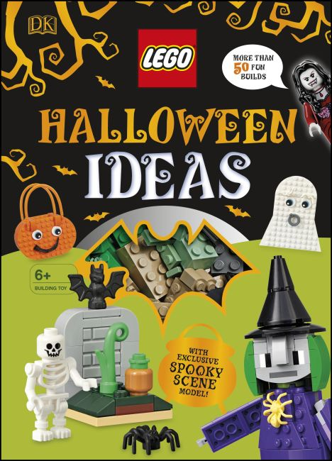 Hardback cover of LEGO Halloween Ideas