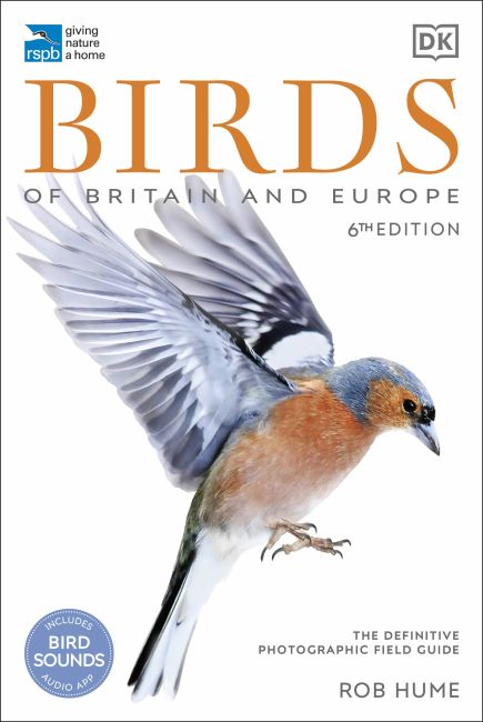 Flexibound cover of RSPB Birds of Britain and Europe