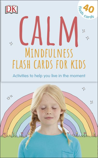 Paperback cover of Calm - Mindfulness Flash Cards for Kids