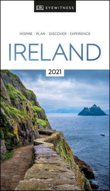 Paperback cover of DK Eyewitness Ireland