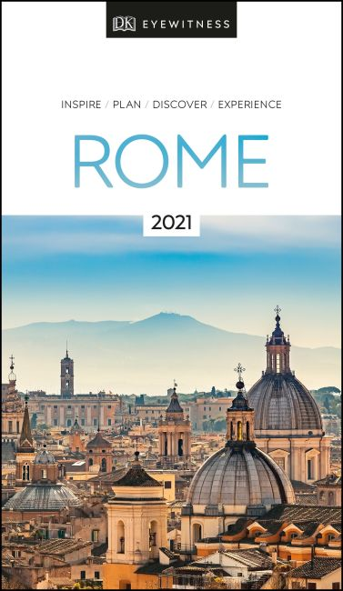 Paperback cover of DK Eyewitness Rome