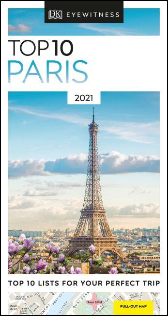 Paperback cover of DK Eyewitness Top 10 Paris