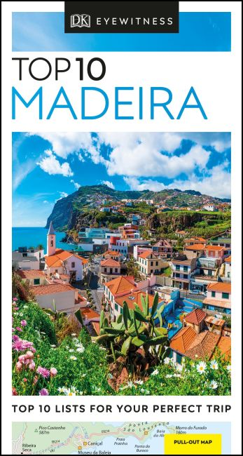 Paperback cover of DK Eyewitness Top 10 Madeira