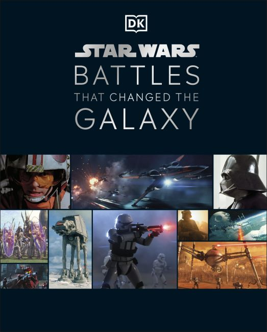 Hardback cover of Star Wars Battles That Changed the Galaxy