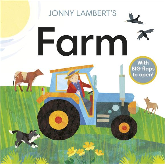 Board book cover of Jonny Lambert's Farm