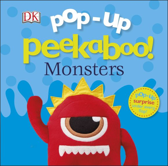 Board book cover of Pop Up Peekaboo! Monsters