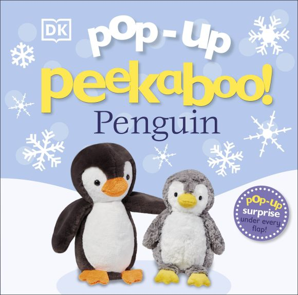 Board book cover of Pop Up Peekaboo! Penguin