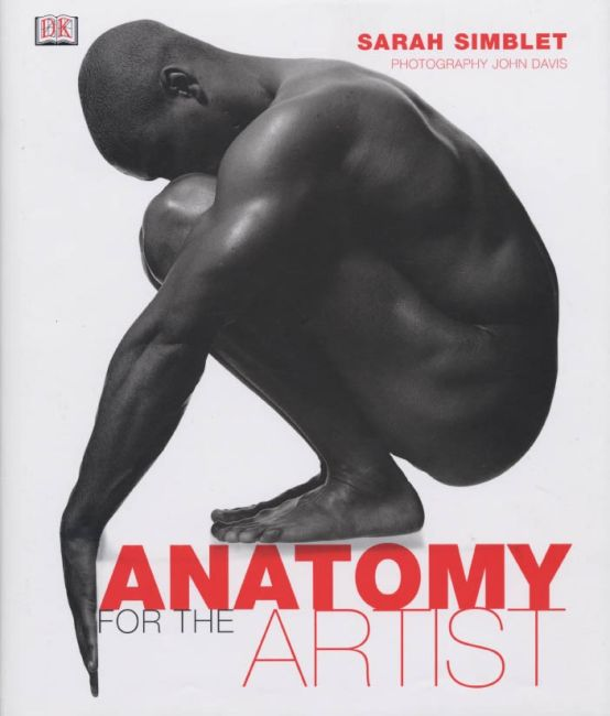 Hardback cover of Anatomy for the Artist