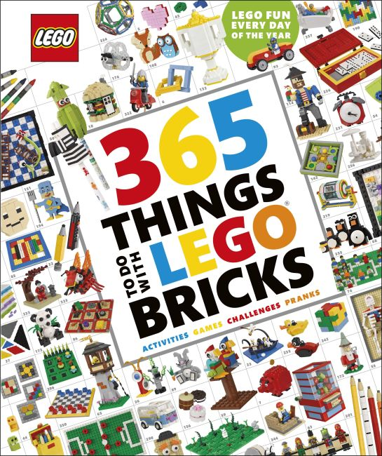Hardback cover of 365 Things to Do with LEGO® Bricks