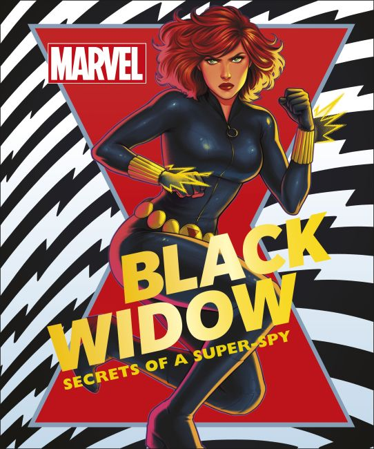 Hardback cover of Marvel Black Widow
