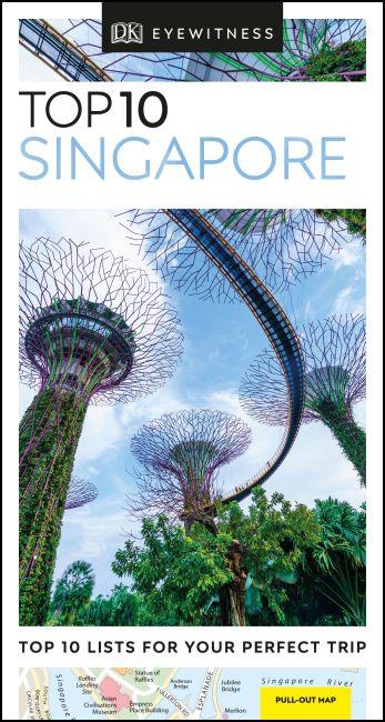 Paperback cover of DK Eyewitness Top 10 Singapore