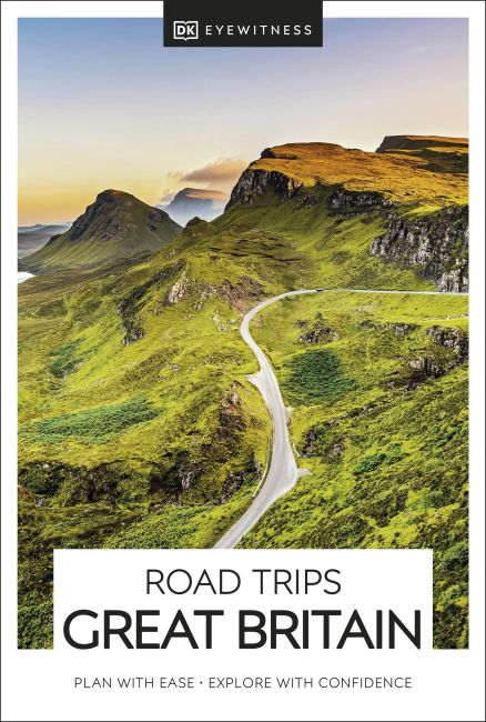 Paperback cover of DK Eyewitness Road Trips Great Britain