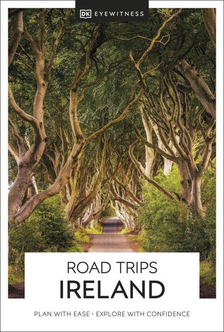 Paperback cover of DK Eyewitness Road Trips Ireland