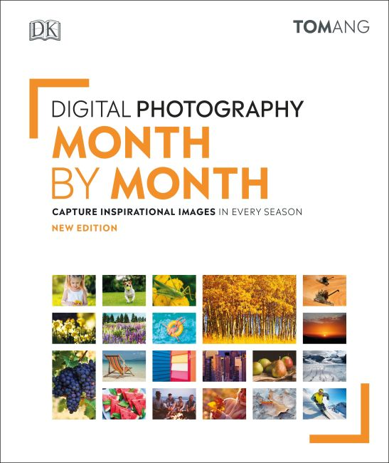 Hardback cover of Digital Photography Month by Month