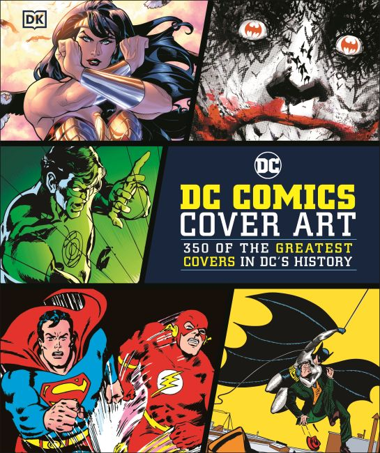 Hardback cover of DC Comics Cover Art
