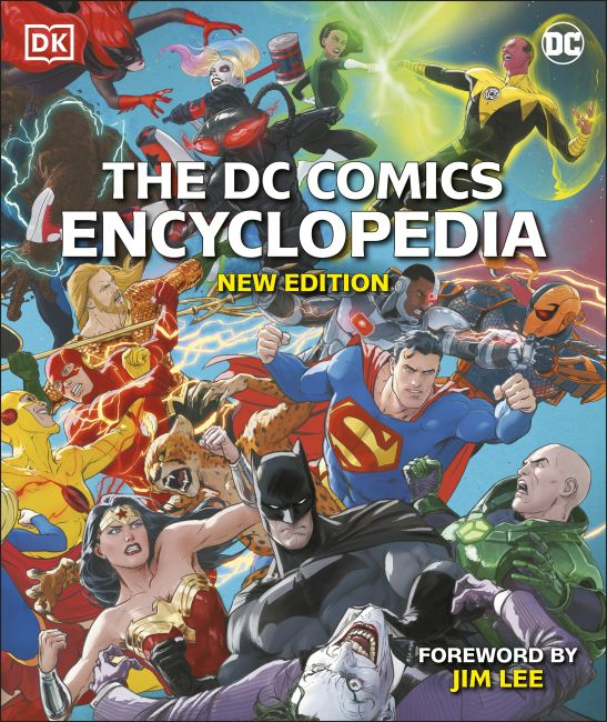 Hardback cover of The DC Comics Encyclopedia New Edition