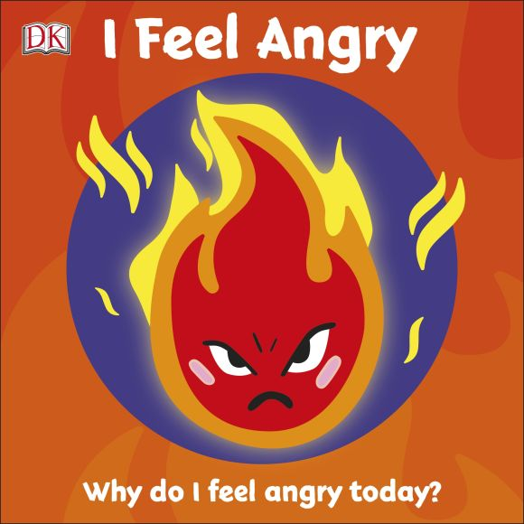 Board book cover of First Emotions: I Feel Angry
