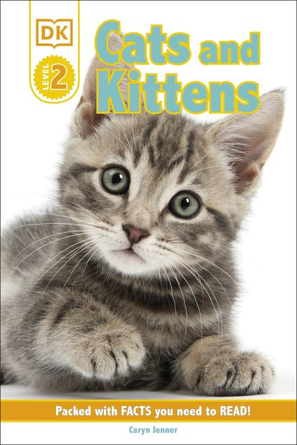 Hardback cover of DK Reader Level 2: Cats and Kittens