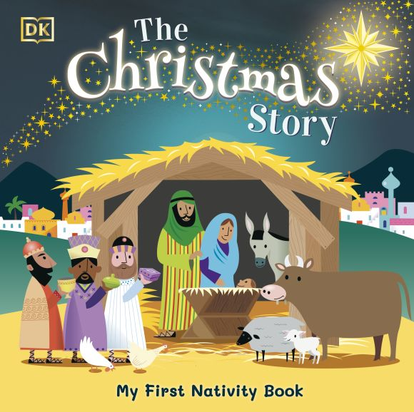 Board book cover of The Christmas Story