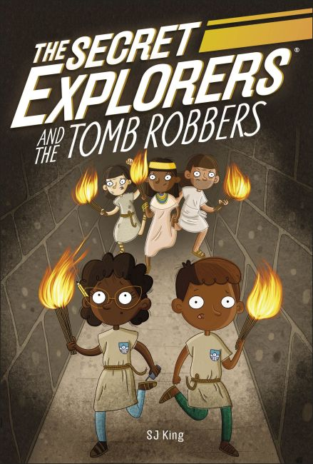 Paperback cover of The Secret Explorers and the Tomb Robbers