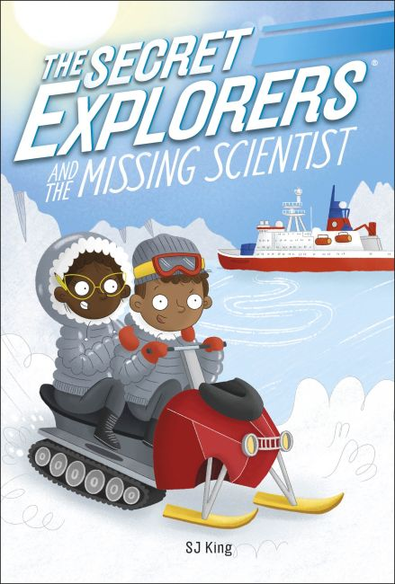 Paperback cover of The Secret Explorers and the Missing Scientist
