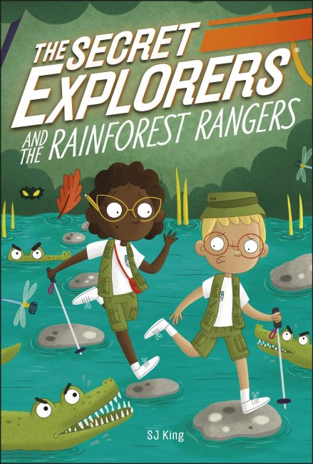 Paperback cover of The Secret Explorers and the Rainforest Rangers