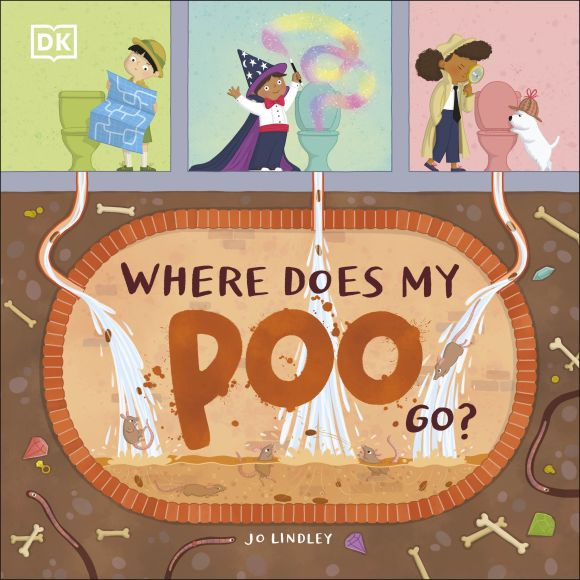 Paperback cover of Where Does My Poo Go?