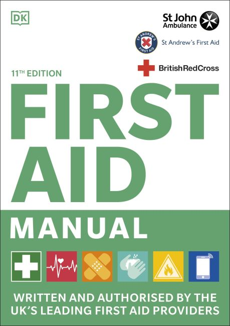 Flexibound cover of First Aid Manual