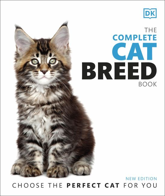 Hardback cover of The Complete Cat Breed Book